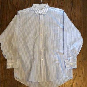 Pinstriped dress shirt